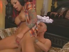 Big Tits Mason Moore Rides Dick Cowgirl Style