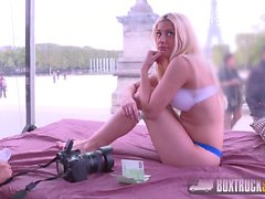 Hot Blonde Jessie Volt gets Fucked at the Eiffel Tower
