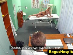 Bigtitted patient caught fucking dr on spycam