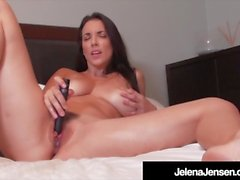 Penthouse Pet Jelena Jensen Orgasms With Black Bullet!