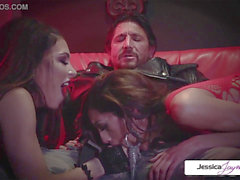 Jessica Jaymes - Perfec three-way whit Jessica Chloe and Tommy Gunn