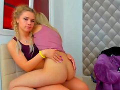 Cute Little Lesbians Experimenint At College...