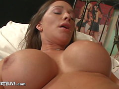 Top Heavy Destiny Dixon Slurps & Slides On ERIC JOHN's Cock