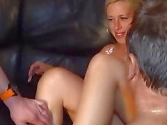 3 german gangbangs with creampies