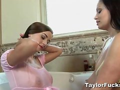 Bath Time With Aria Giovanni
