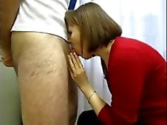 Russian whore. BJ in office