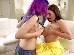 Jelena Jensen, Angela White In The Bed