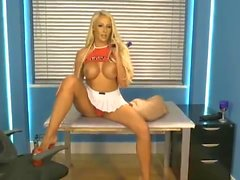 Lucy Summers on BS as Cheerleader