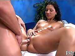 See those luscious girls get drilled hard