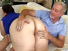 Big titted mature BBW Lady Lynn gets her pussy dri