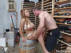Yurizan beltran large titted copulates the wine grower