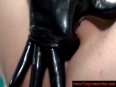 Perverted lesbians in latex