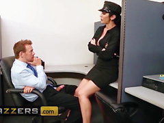 Big TITS in uniform - Jayden Jaymes & Erik Everhard - Campus
