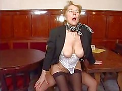granny Enjoy Young Cock
