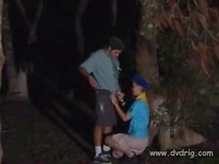 Czech Camp Counselor Makes His Dream Come True When He Hides Behind A Tree With Cute Girl Katia Kuller And Receives A Blowjob From Her Teeen Oral Sex