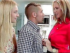 Julia Ann and Natalia Starr hot ffm 3way