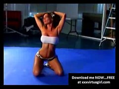 Crissy Moran sexy video making of