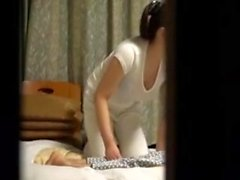 Asian Japanese Message And Bathroom Voyeur