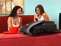 Melanie Scott seduces a gorgeous brunette
