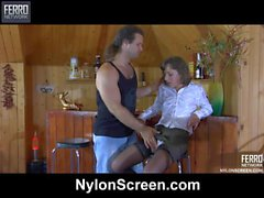 Viola&Lesley naughty nylon action