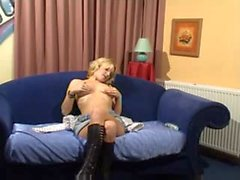 horny german milf show her pussy on the webcam - webcam porn