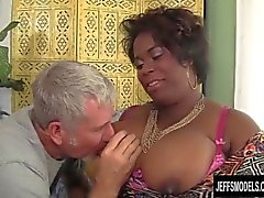 Marlise Morgan, Siyah BBW Dick Sucker