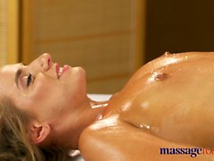 Massage Rooms Anal creampie fucking for sexy Russian