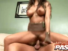 Jenaveve Jolie is a naughty Latina beauty with an appetite