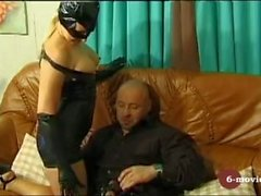 6-movies - Blow and Handjob in Latex -