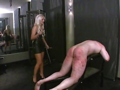 3 Girls Cruel & Relentless Caning Session