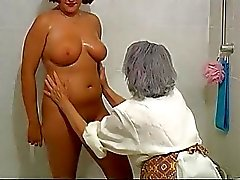 OmaPass BBW chubby Granny with old Mature woman