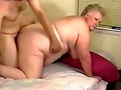 Gran fucked by young guy
