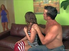 Hot ass babysitter Tiffany Paige getting shared