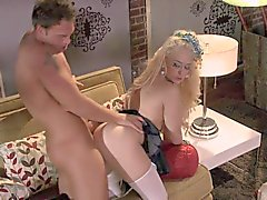 It's strange that Kagney Linn Karter is a maid, and