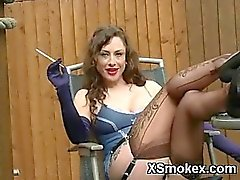Nice Titty Teen Smoking Hungry Makeout