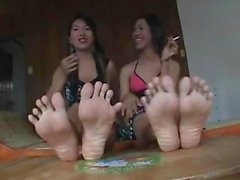 2 Asian shemales soles