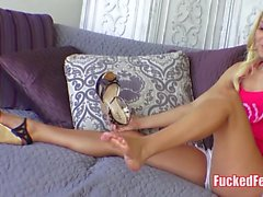Cutie Aaliyah Love Feet Get Fucked Hot Foot Fetish Video!