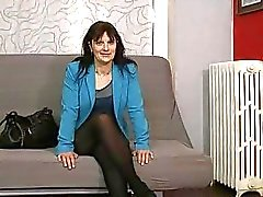 Carla mature fucked by a french fake agent