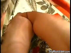 Horny Russian Mother And The Plumber