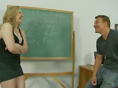 English lesson with Vicky Vixen