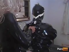 latex maid with mistress 3