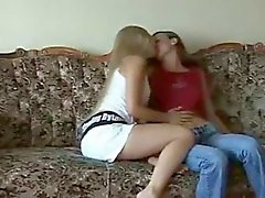 Crazy Video Of Teen Girls Having Sex On The Sofa