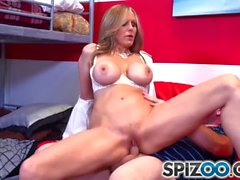 Spizoo - Julia Ann fucking a big hard dick, big booty & big boobs
