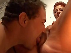 Young man Tasty Pussy Of A Mature German Lady