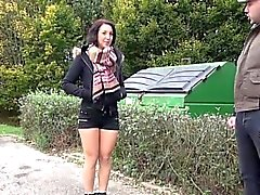 Norah fucked in a rest area of a motorway