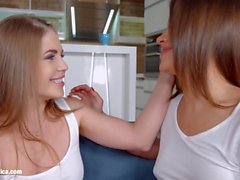 Sapphic selfie by Sapphic Erotica sensual erotic lesbian porn with Alessandra Jane and Emma Brown