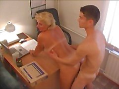 RUSSIAN MOM 12 mature with a young man