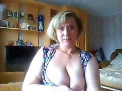 Hot Blonde Mature spielt auf MaturesCam.club