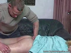 Pussy Massage Turns To A Hard And Tough Fucking Session