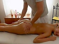hot young blonde sex massage